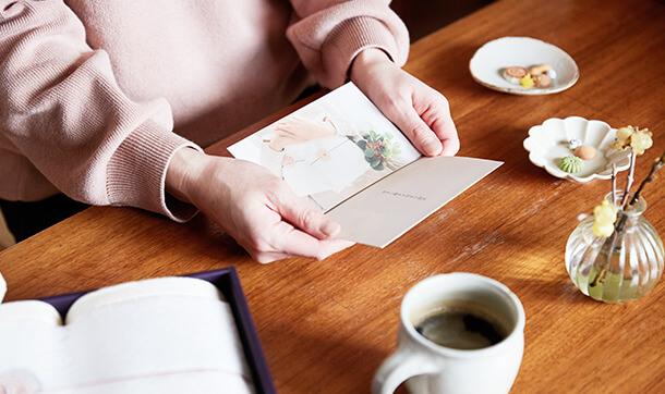 sara-laメッセージカード